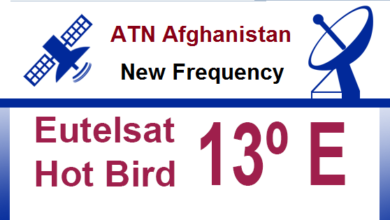 Photo of ATN Afghanistan New Latest Frequency On Hot Bird 13B 2021