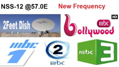 Photo of MBC BOLLYWOOD New Frequency On NSS-12 @57.0E
