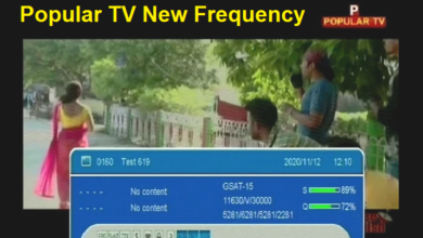 Photo of Popular TV New Frequency On GSAT 15 93`.5°E