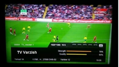 Photo of TV Varzish New Biss Key And Frequency Stat On Al Yah 1 at 52.5°East