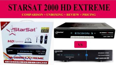 Photo of STARSAT SR-2000HD EXTREME OF RECEIVER NEW SOFTWARE 2021