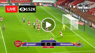 Photo of Arsenal VS Newcastle Utd Live Football Match Score 2 May 2021