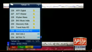 Photo of DHOOM NEWS- WATAN 2 TV /Started On NEW TP On YahaSat-1A@52.5° E