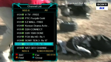 Photo of SONY SIX HD Frequency Started On SES-7/8 @108.0E