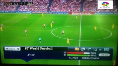 Photo of ST World Football New Frequency On Eutelsat 8 West B 8.0° W
