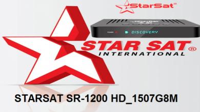 Photo of STARSAT SR-1200 HD_1507G8M_V213 NEW RECEIVER SOFTWARE 2021