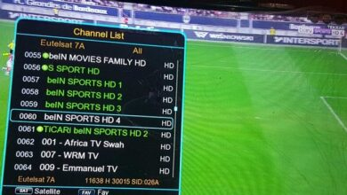 Photo of BeIn Sports HD 3 Max New Frequency Biss Key 2021 On Eutelsat 8 West B 8.0° W