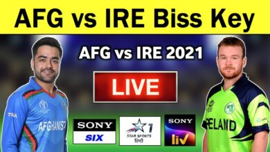 Photo of Cricket Feed AFG vs IRE Biss Key 2021On AsiaSat 5 at 100.5°E