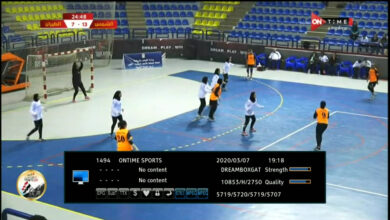 Photo of ONTIME SPORTS 3 Frequency And Biss Key On Nilesat 7W
