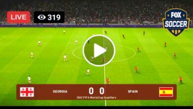 Photo of Spain vs Gerogia – World Cup Live Football Score 28 Mar 2021