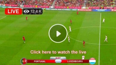 Photo of Portugal vs Luxembourg World Cup Live Football Score 30 Mar 2021