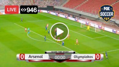 Photo of Arsenal vs Olympiakos Live Football Score 18 Mar 2021