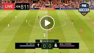 Photo of Real Madrid Vs Celta Vigo Live Football Score 20 Mar 2021