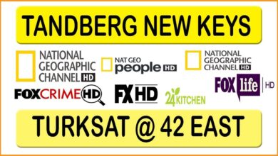 Photo of New Tandberg Keys Working TV Channels List Frequency Biss Key