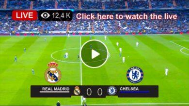 Photo of Real Madrid vs Chelsea Champions League LIVE Football Score 28 April 2021