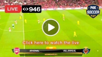 Photo of Arsenal vs Villarreal UEFA League Live Football Match Score 6 May 2021