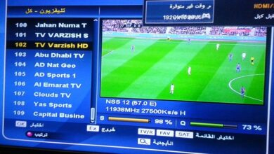 Photo of Biss Key of TV Varzish MK Sports Biss Key Frequency