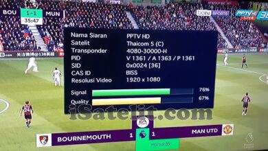 Photo of PPTV HD Started New Biss Key On ThaiCom-5 @78.5°East