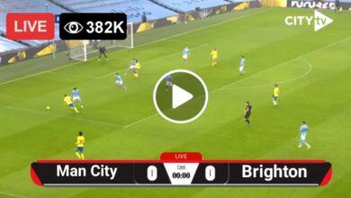 Photo of Manchester City vs Brighton LIVE Football Score 18 May 2021