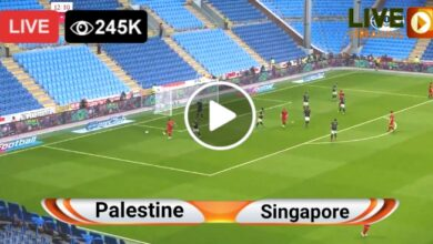 Photo of Palestine vs Singapore World Cup qualifiers LIVE Football Score 3 June 2021