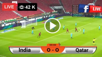 Photo of India vs Qatar World Cup qualifiers LIVE Football Score 3 June 2021