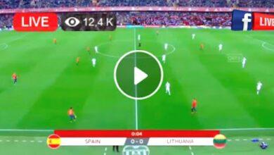 Photo of Spain vs Lithuania Friendly International LIVE Football Score 8 June 2021