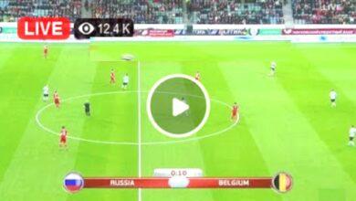 Photo of Belgium vs Russia UEFA Euro LIVE Football Score 12 June 2021