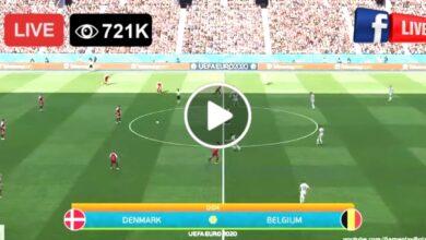 Photo of Denmark vs Belgium Euro LIVE Football Score 17 June 2021