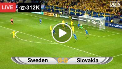 Photo of Sweden vs Slovakia EURO LIVE Football Score 18 June 2021