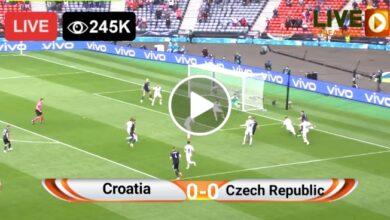 Photo of Croatia vs Czech Republic UEFA EURO LIVE Football Score 18 June 2021