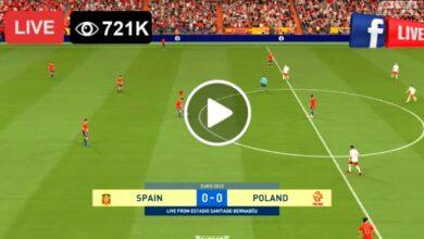 Photo of Spain vs Poland UEFA Euro LIVE Football Score 19 June 2021
