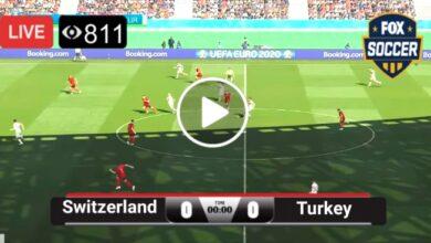 Photo of Switzerland vs Turkey UEFA Euro LIVE Football Score 20 June 2021