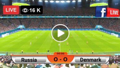 Photo of Russia vs Denmark UEFA Euro LIVE Football Score 21 June 2021