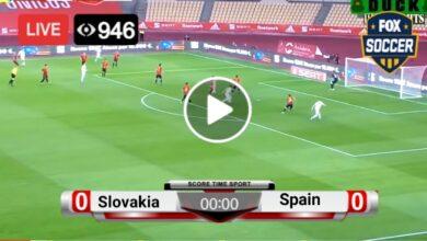 Photo of Slovakia vs Spain Euro LIVE Football Score 23 June 2021