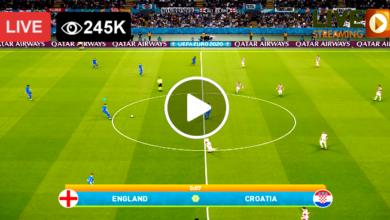 Photo of England vs Croatia UEFA Euro LIVE Football Score 13 June 2021