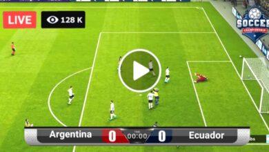 Photo of Argentina VS Ecuador LIVE Football Match Score 4 July 2021