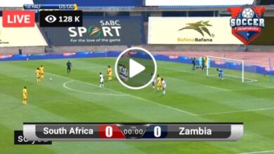 Photo of South Africa vs Zambia COSAFA Cup LIVE Football Score 14 Jul 2021
