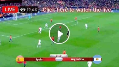 Photo of Spain vs Argentina Olympic Games Live Football Score 28 Jul 2021