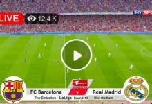 Photo of Barcelona vs Real Madrid LaLiga LIVE Football Score 24 Oct 2021