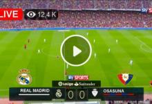 Photo of Real Madrid vs Osasuna LaLiga LIVE Football Score 27 Oct 2021