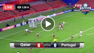 Photo of Qatar vs Portugal Friendly LIVE Football Score 4 Sept 2021