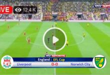 Photo of Liverpool vs Norwich City EFL Cup LIVE Football Score 21 Sept 2021