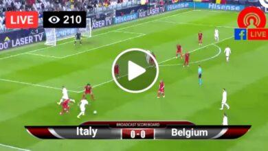 Photo of Italy vs Belgium UEFA Nations League Finals. LIVE Football Score 10 Oct 2021