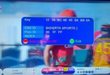 Photo of Biss Key of RTA Sports HD on Yahsat 1A at 52.5°East